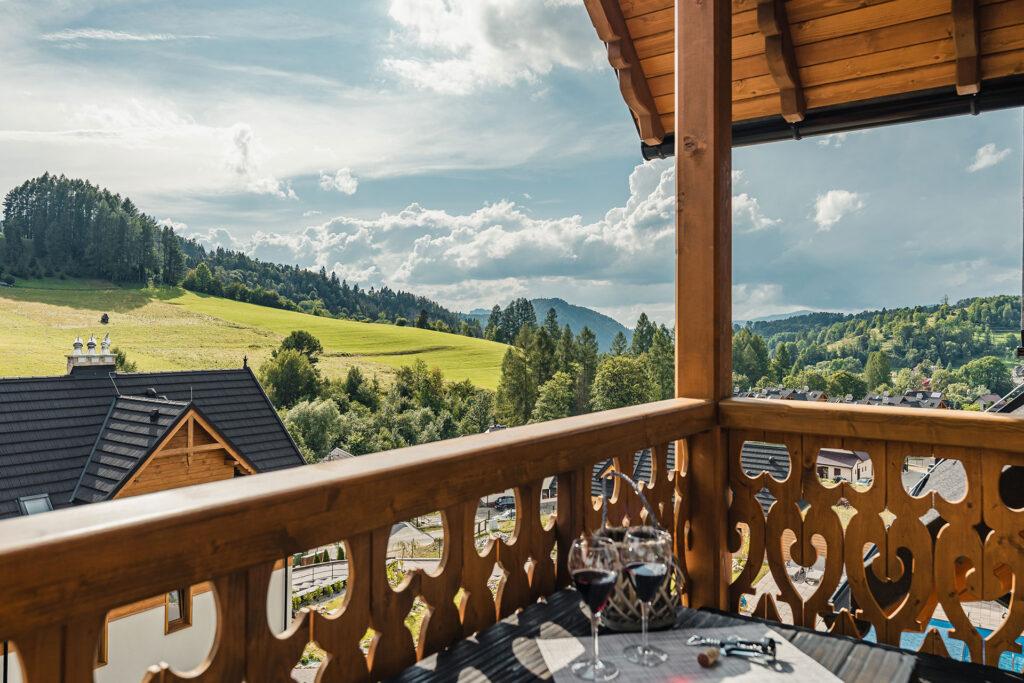 Luksusowy apartament w górach Jaworki